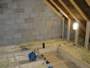 job 1 under construction